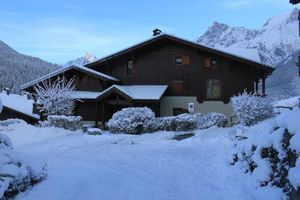 Apartment With one Bedroom in Les Houches, With Wonderful Mountain View, Pool Access and Furnished Garden - 30 m From the Slopes